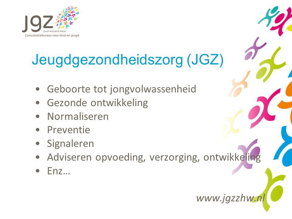 Jeugdgezondheidszorg (JGZ)
