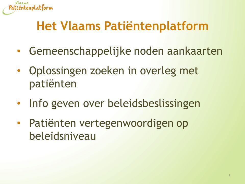 Het Vlaams Patiëntenplatform