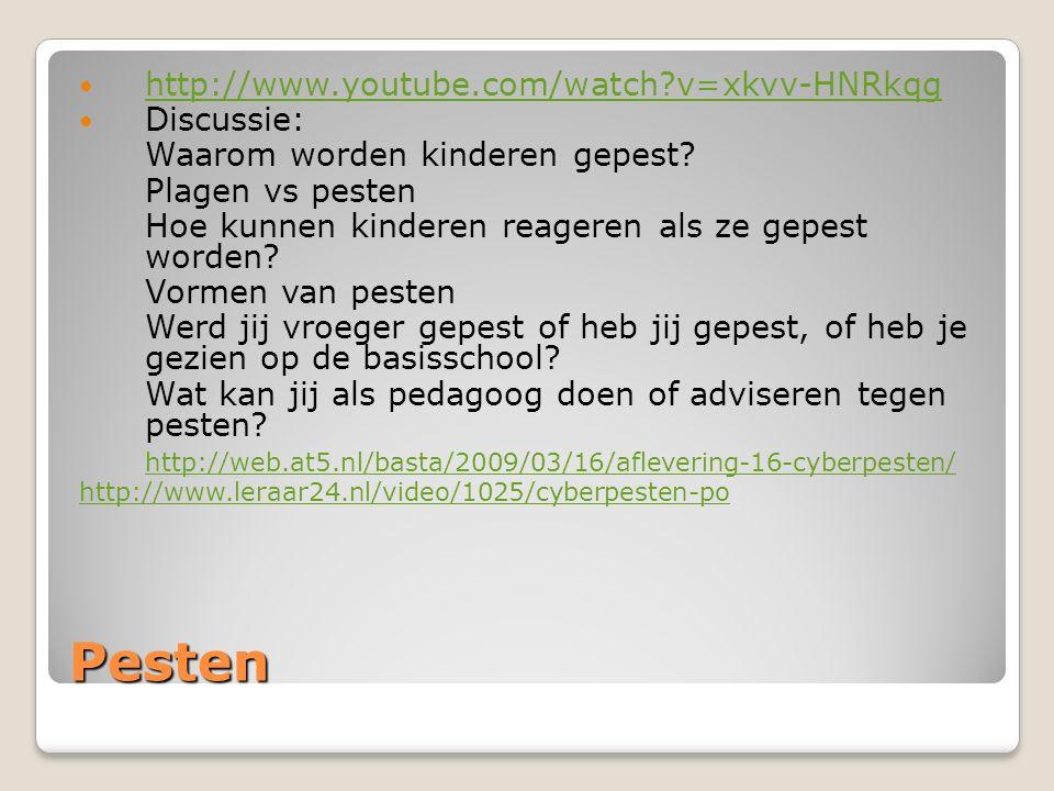 Pesten http://www.youtube.com/watch v=xkvv-HNRkqg Discussie: