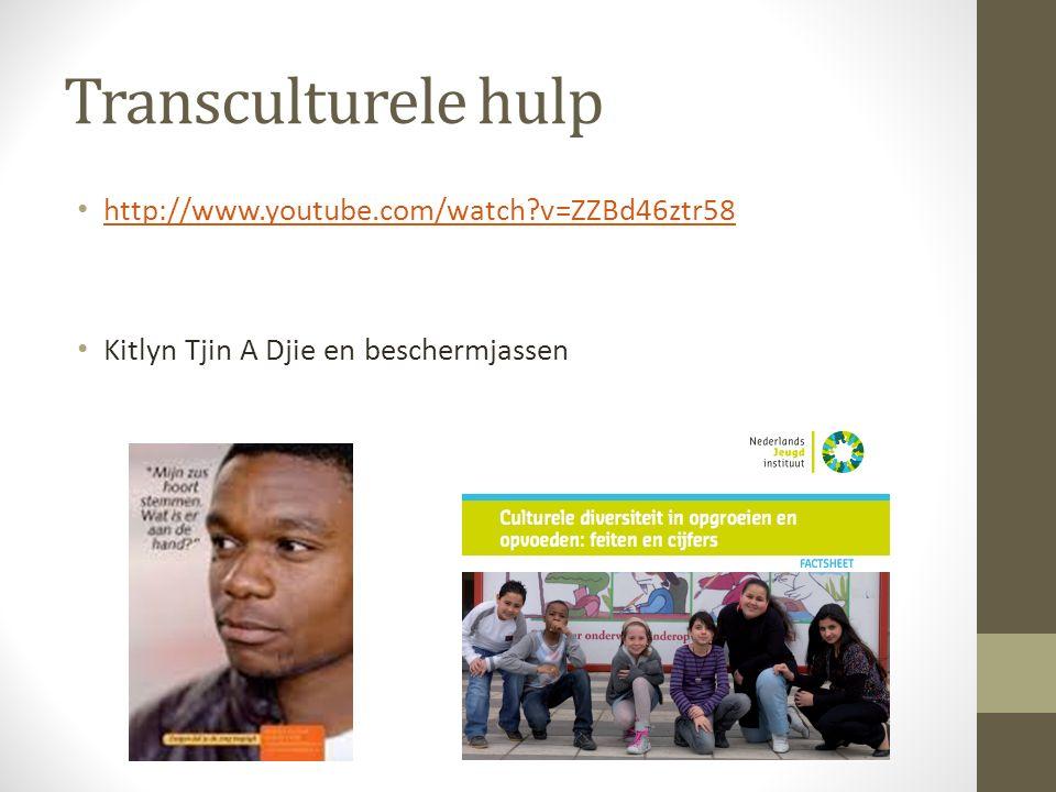 Transculturele hulp http://www.youtube.com/watch v=ZZBd46ztr58