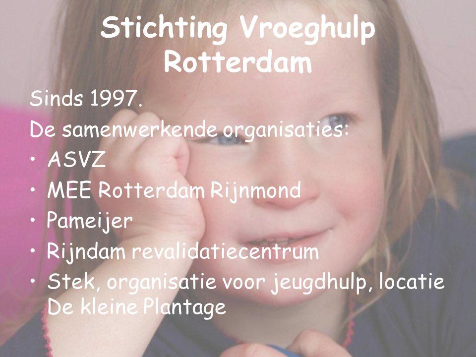 Stichting Vroeghulp Rotterdam