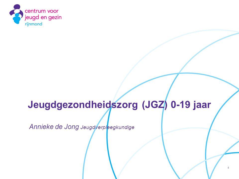 Jeugdgezondheidszorg (JGZ) 0-19 jaar