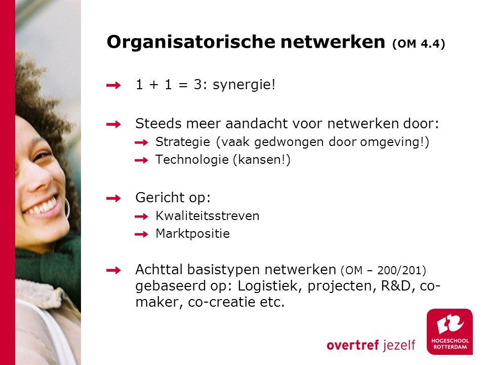 Organisatorische netwerken (OM 4.4)