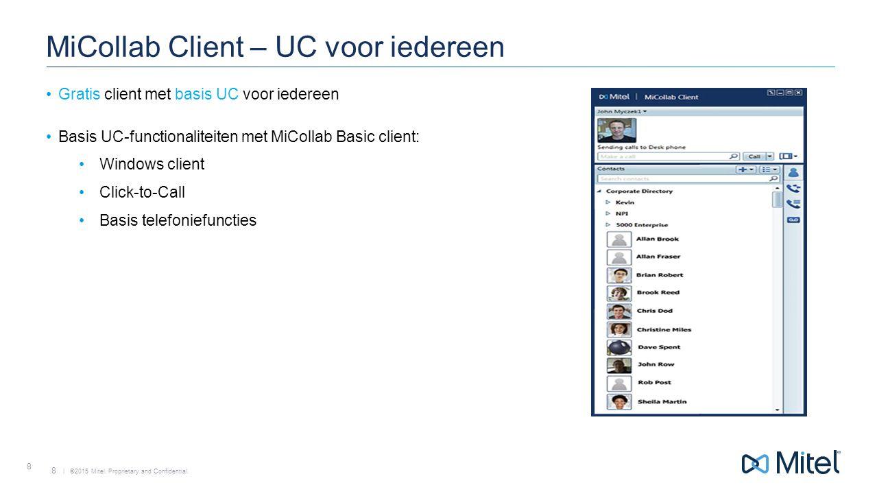MiCollab Client – UC voor iedereen