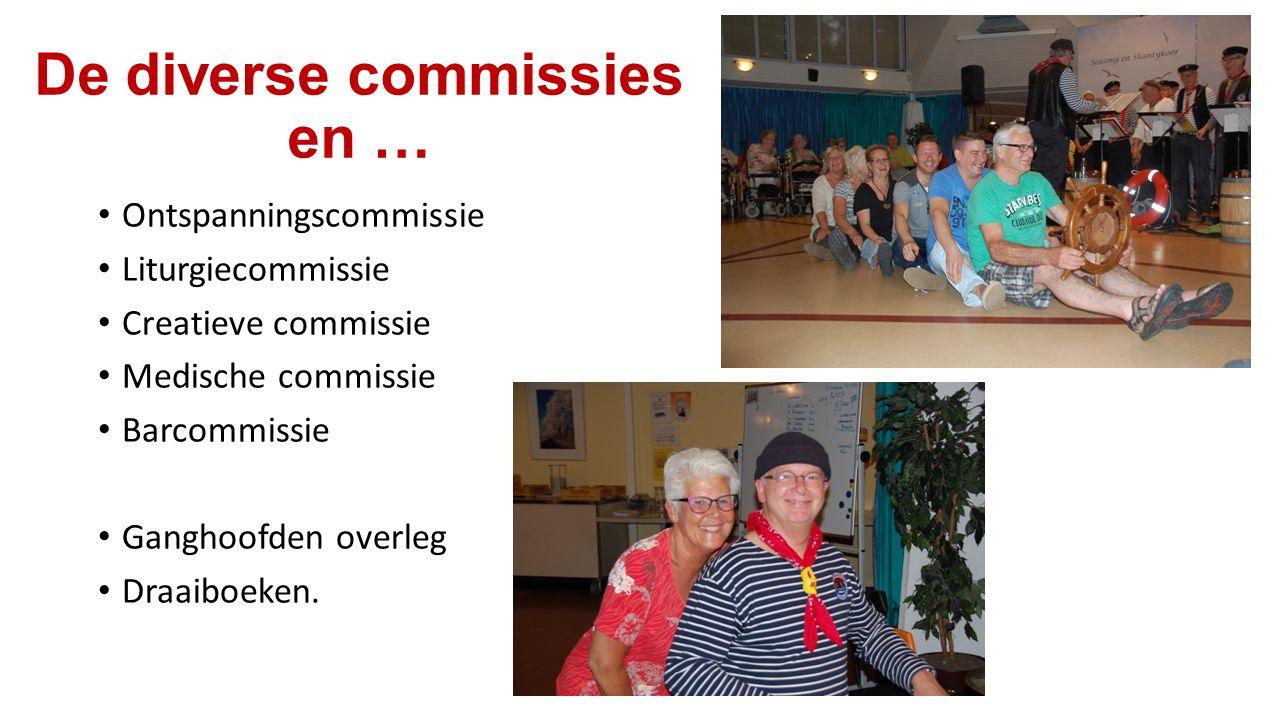 De diverse commissies en …