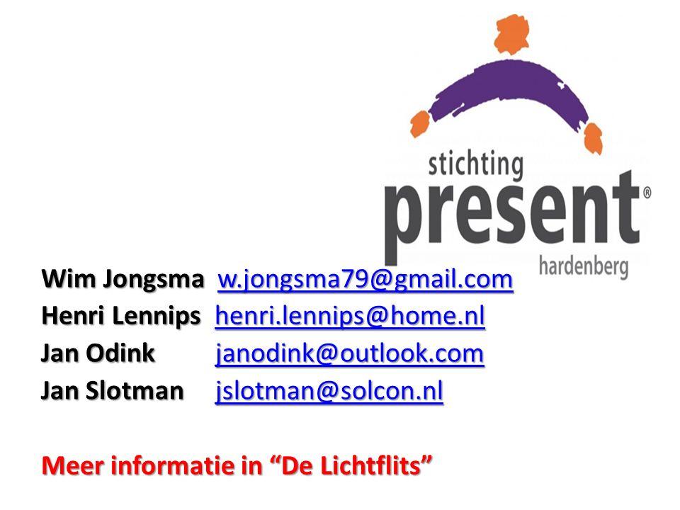 Wim Jongsma w.jongsma79@gmail.com
