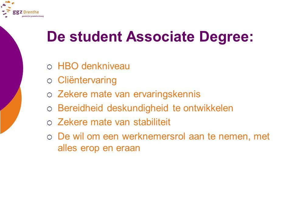 De student Associate Degree: