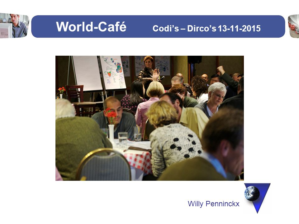 World-Café Codi's – Dirco's 13-11-2015