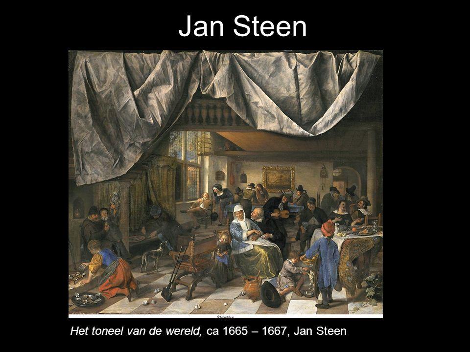 Jan Steen Het toneel van de wereld, ca 1665 – 1667, Jan Steen