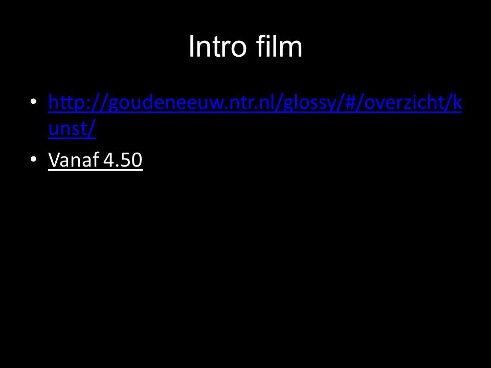 Intro film http://goudeneeuw.ntr.nl/glossy/#/overzicht/kunst/