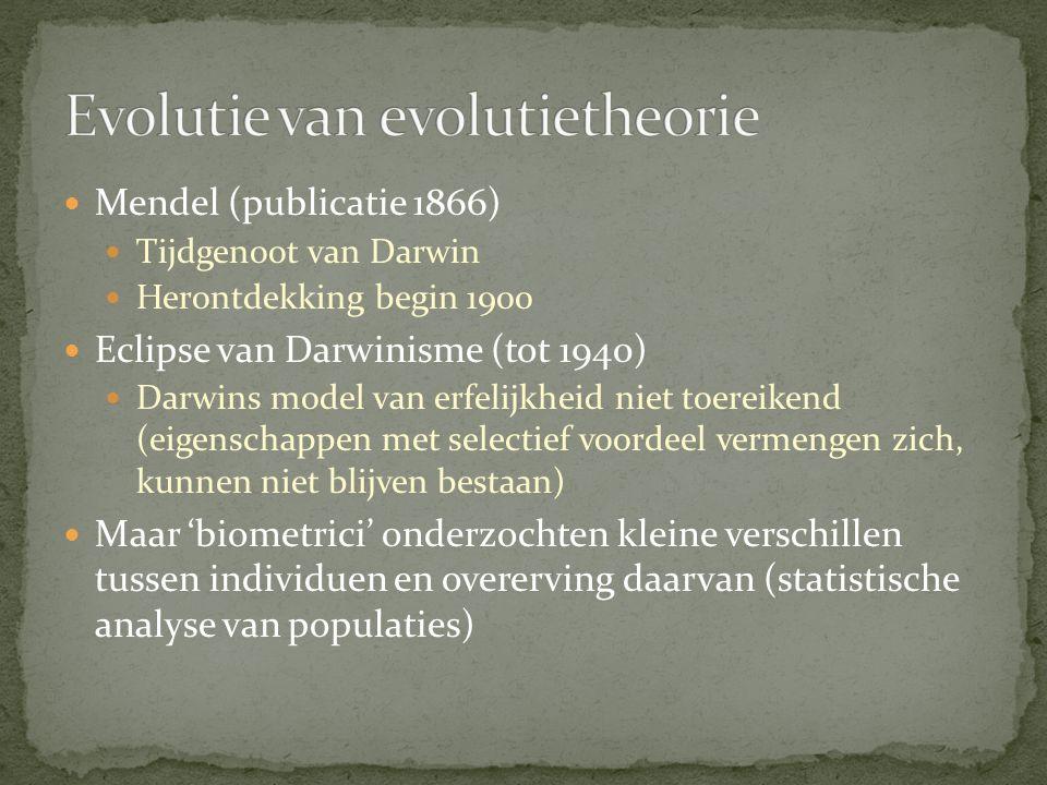 Evolutie van evolutietheorie