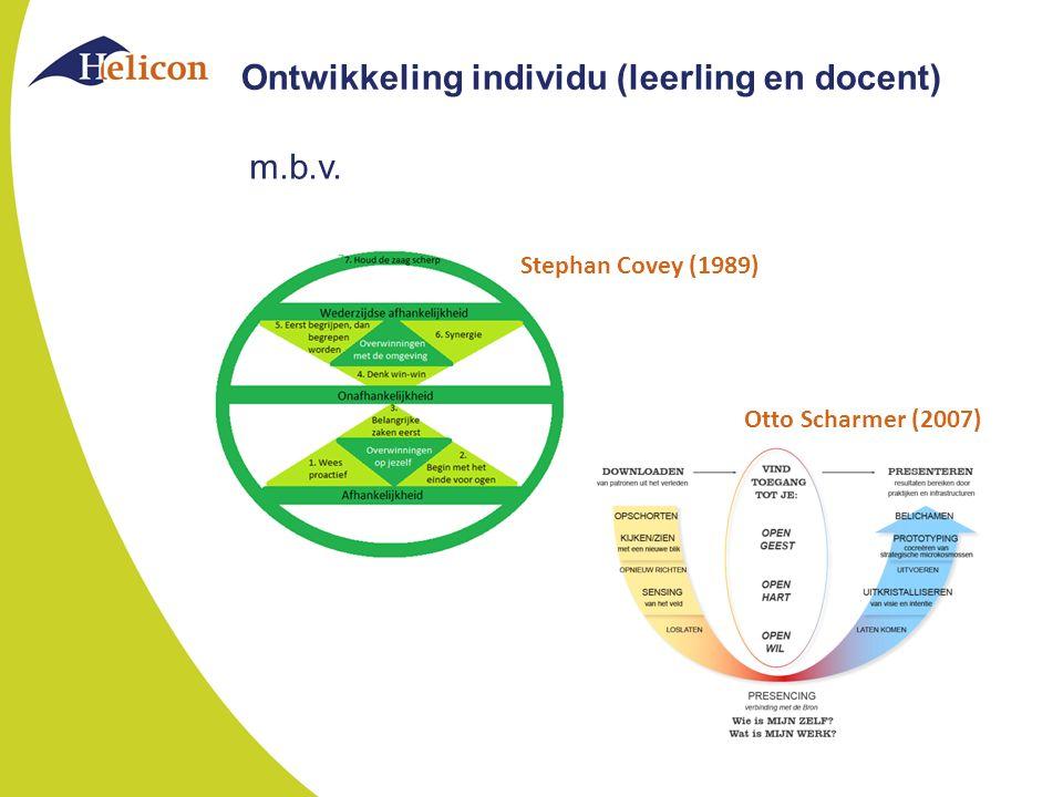 Ontwikkeling individu (leerling en docent)