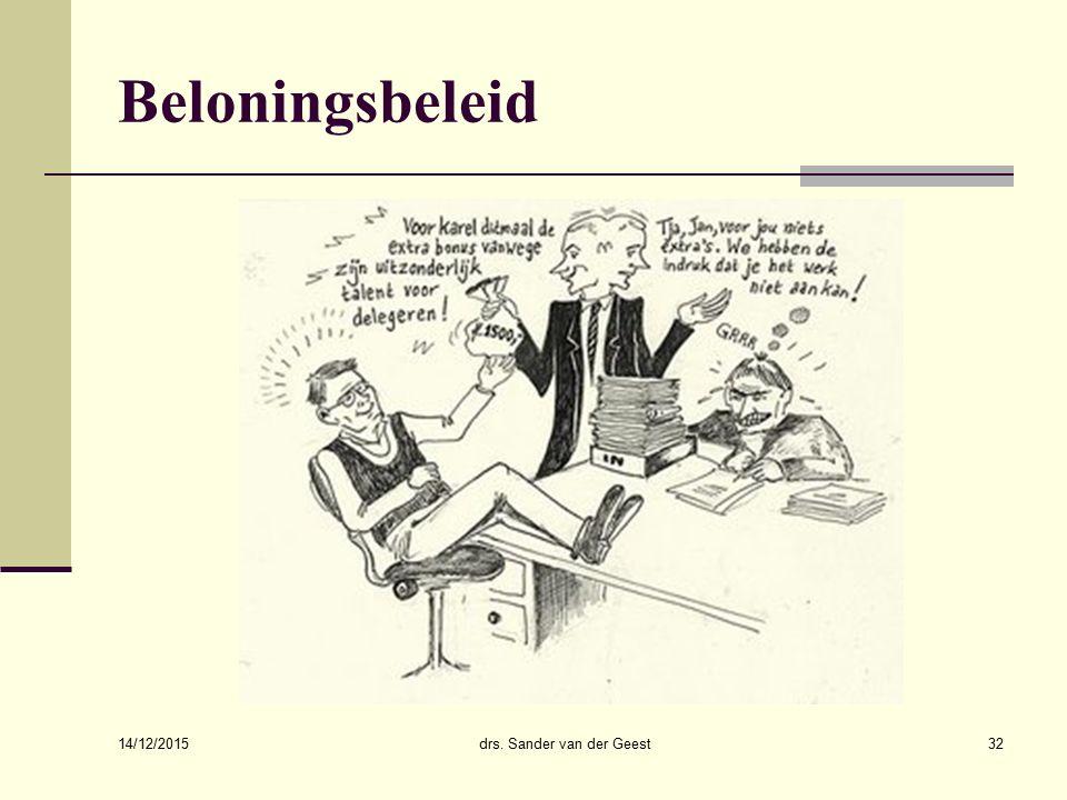 drs. Sander van der Geest