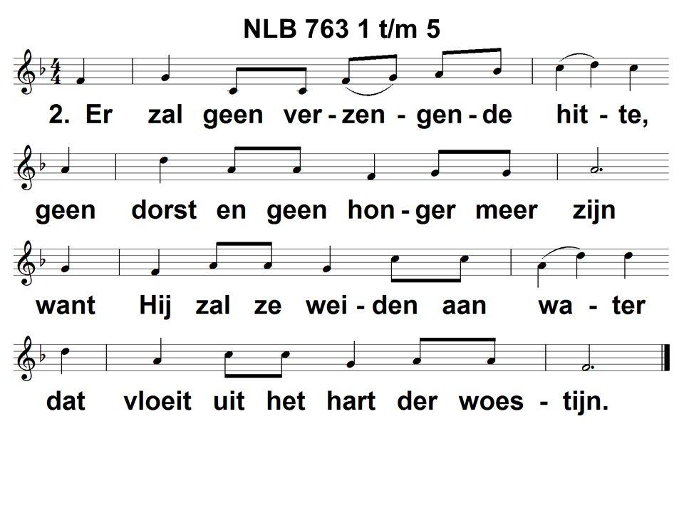 NLB 763 1 t/m 5