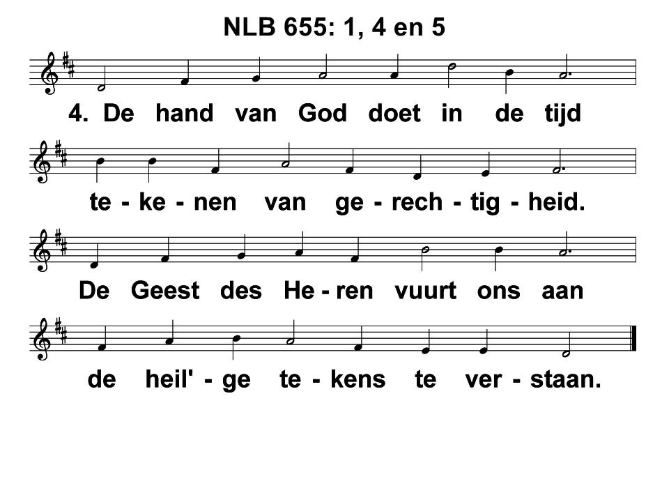 NLB 655: 1, 4 en 5