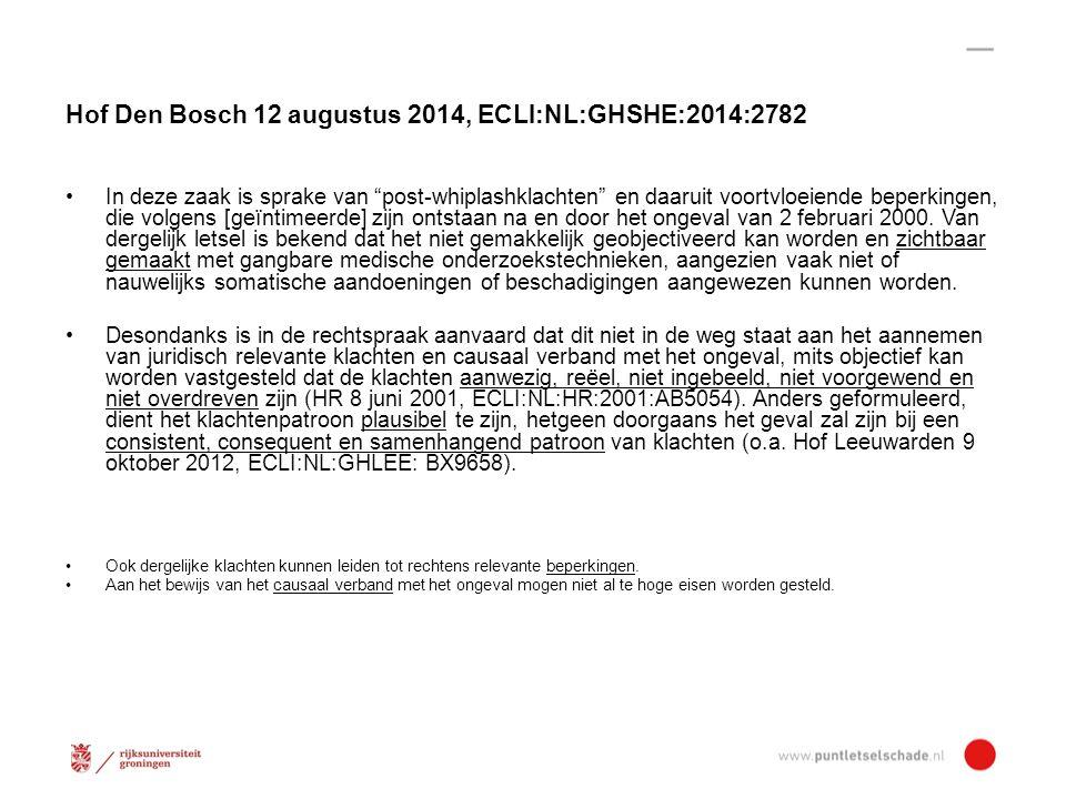 Hof Den Bosch 12 augustus 2014, ECLI:NL:GHSHE:2014:2782