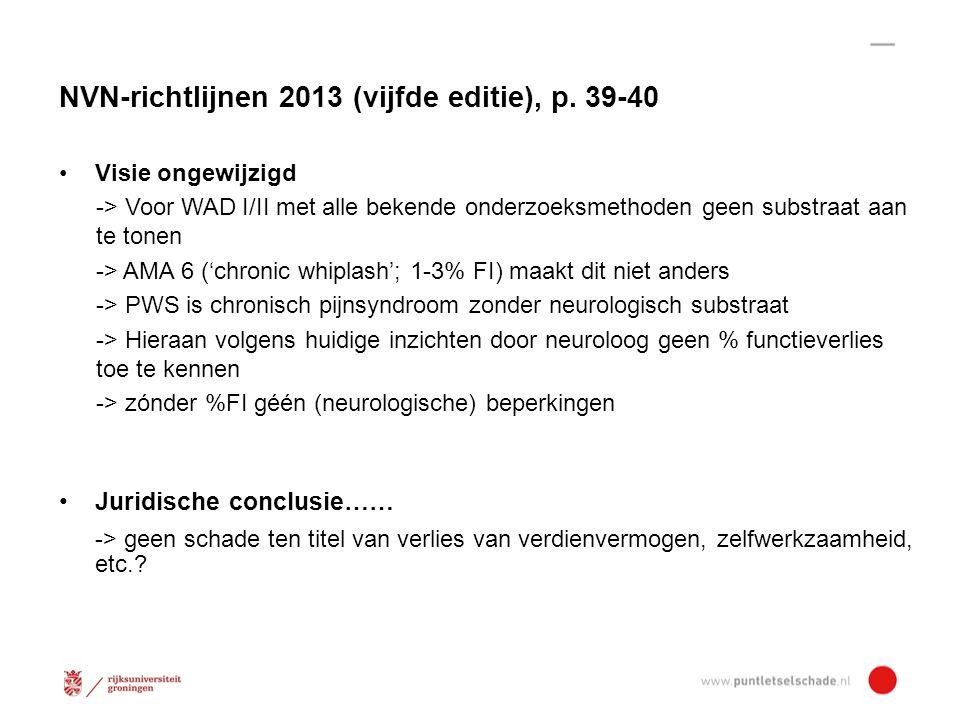 NVN-richtlijnen 2013 (vijfde editie), p. 39-40