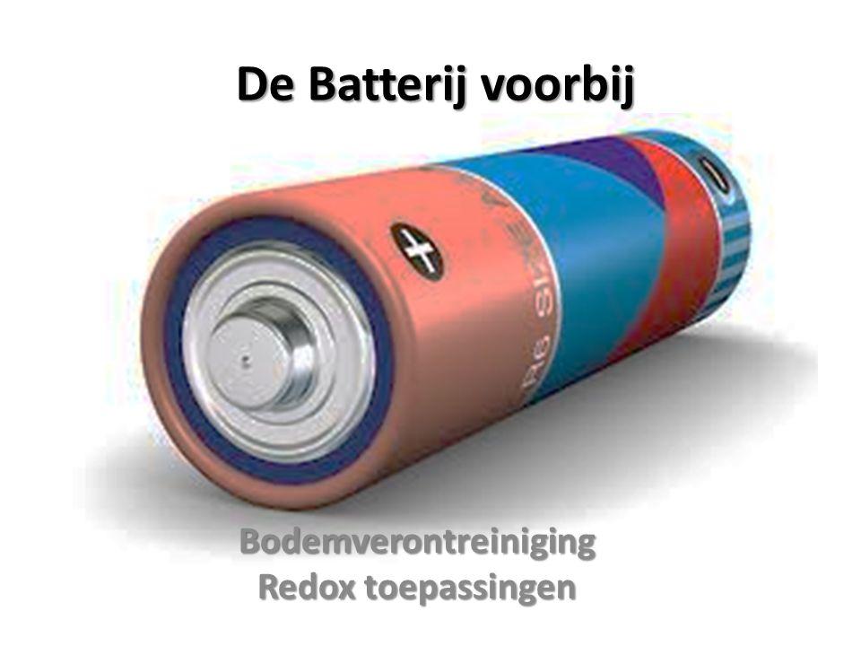 Bodemverontreiniging Redox toepassingen