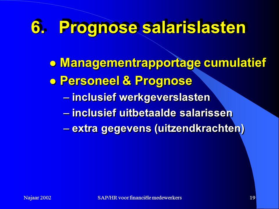 6. Prognose salarislasten