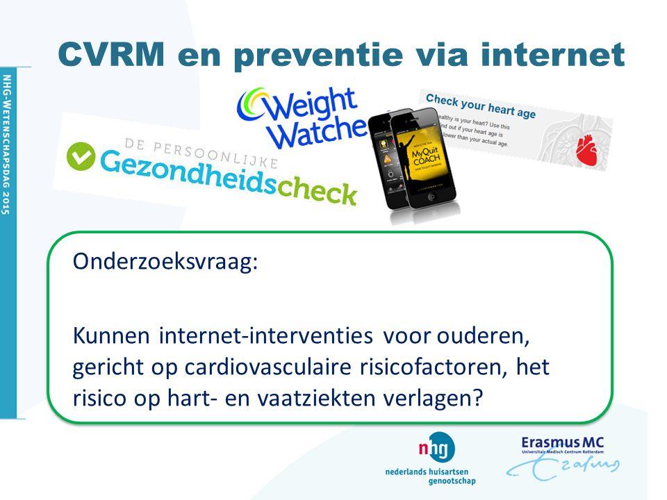 CVRM en preventie via internet