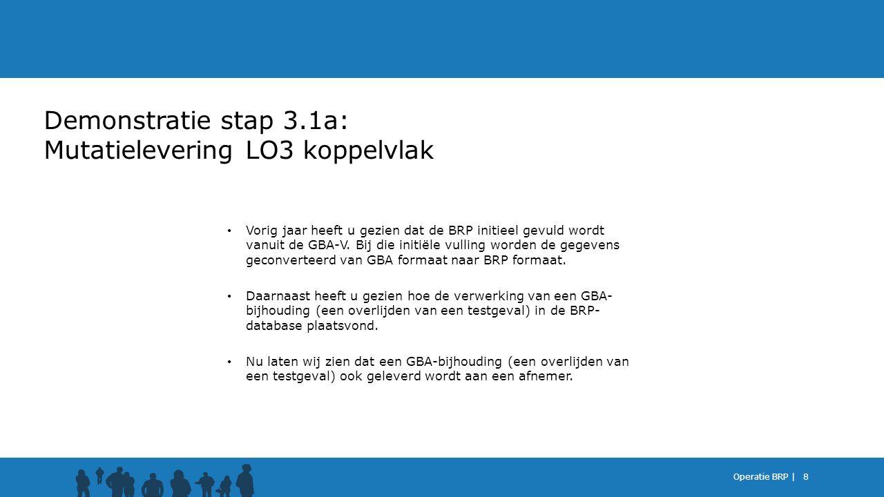 Demonstratie stap 3.1a: Mutatielevering LO3 koppelvlak