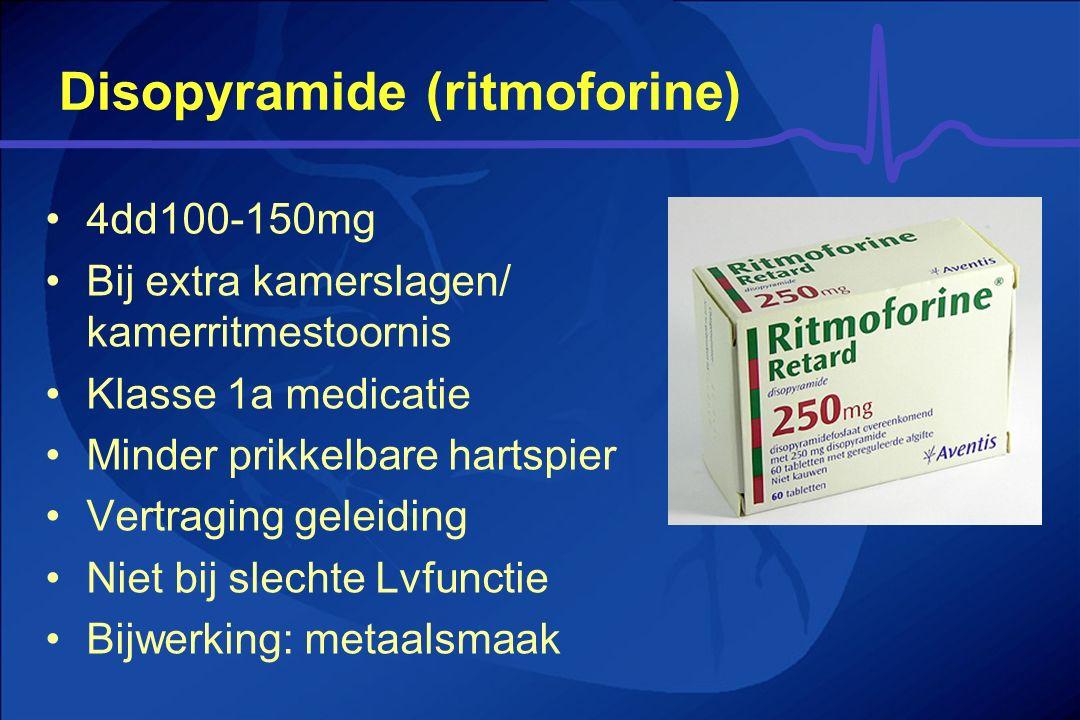 Disopyramide (ritmoforine)