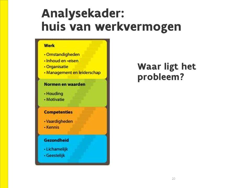Analysekader: huis van werkvermogen