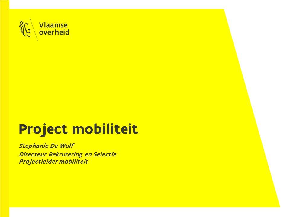 Project mobiliteit Stephanie De Wulf