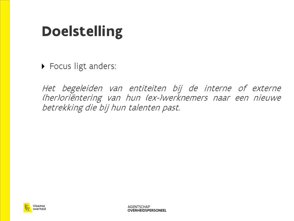 Doelstelling Focus ligt anders: