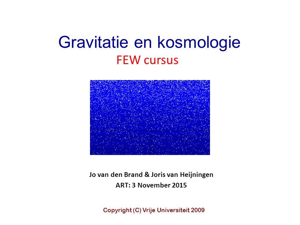 Jo van den Brand & Joris van Heijningen ART: 3 November 2015