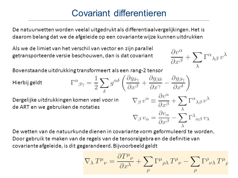 Covariant differentieren