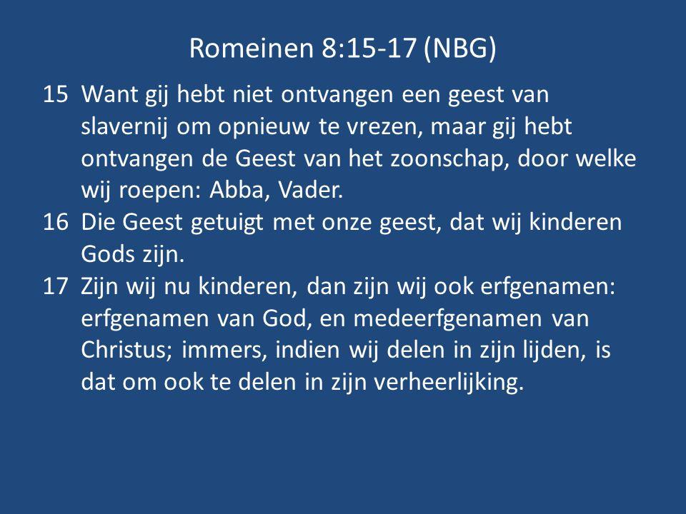 Romeinen 8:15-17 (NBG)
