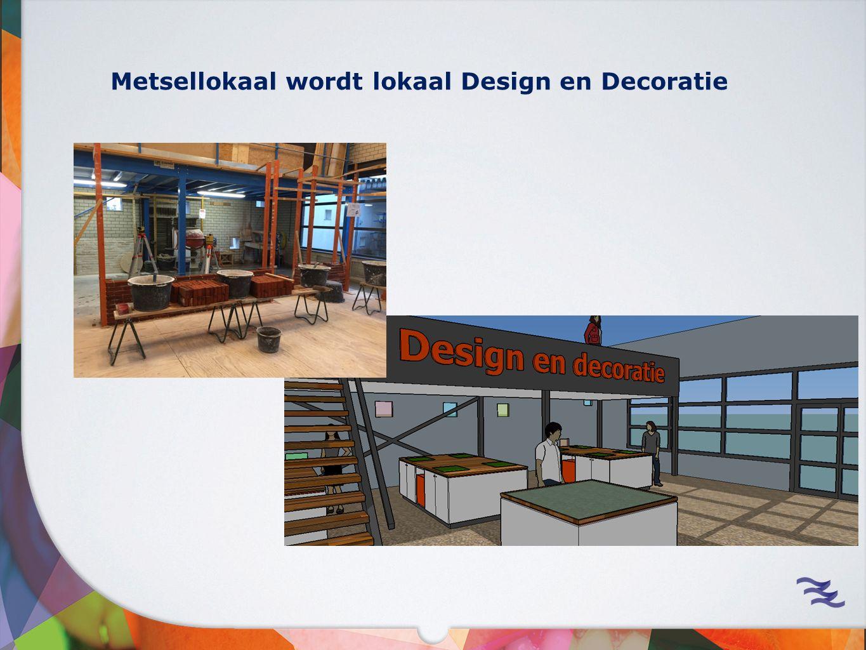 Metsellokaal wordt lokaal Design en Decoratie
