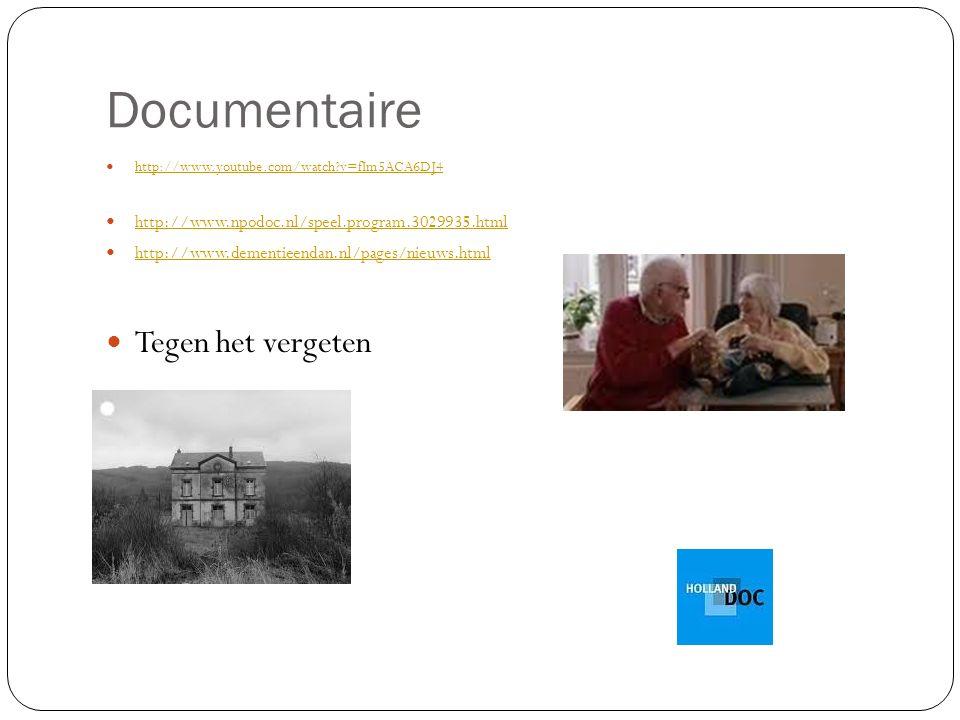 Documentaire Tegen het vergeten