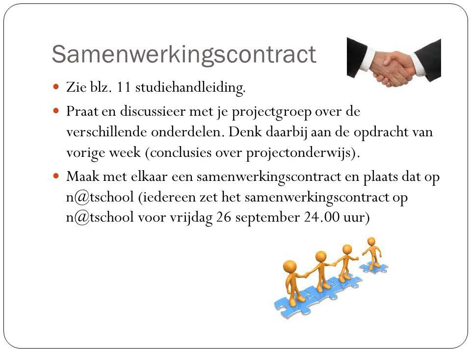 Samenwerkingscontract
