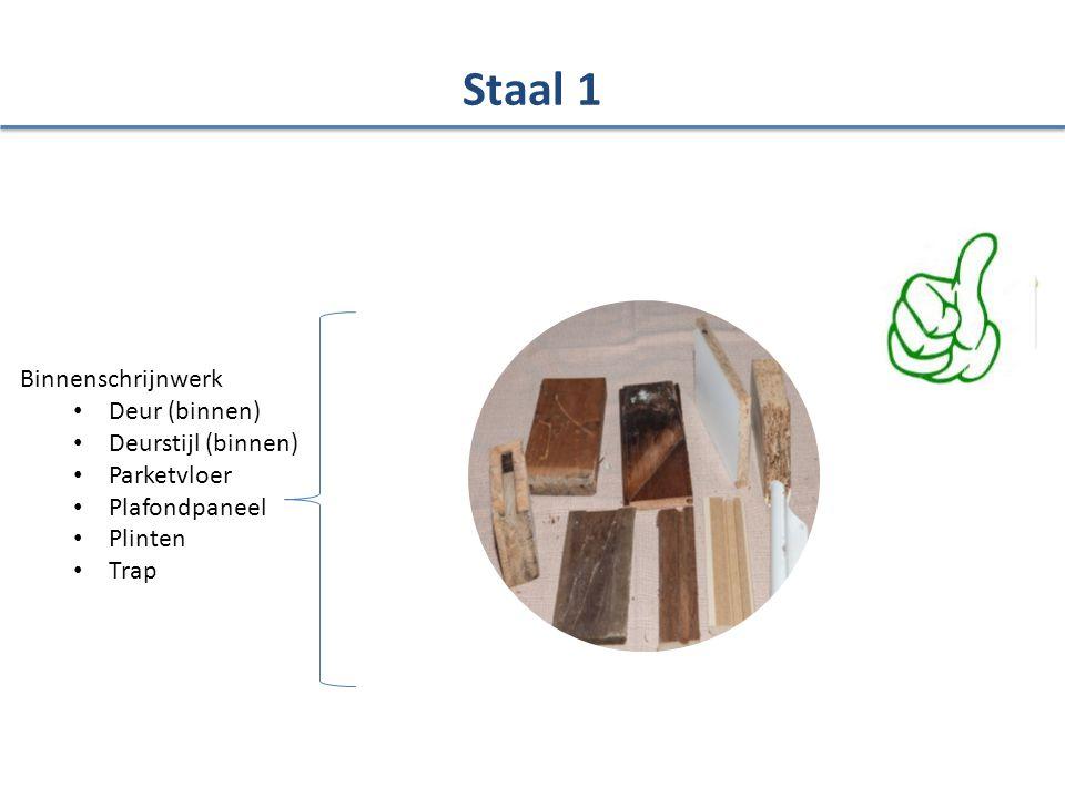 Staal 1 Binnenschrijnwerk Deur (binnen) Deurstijl (binnen) Parketvloer