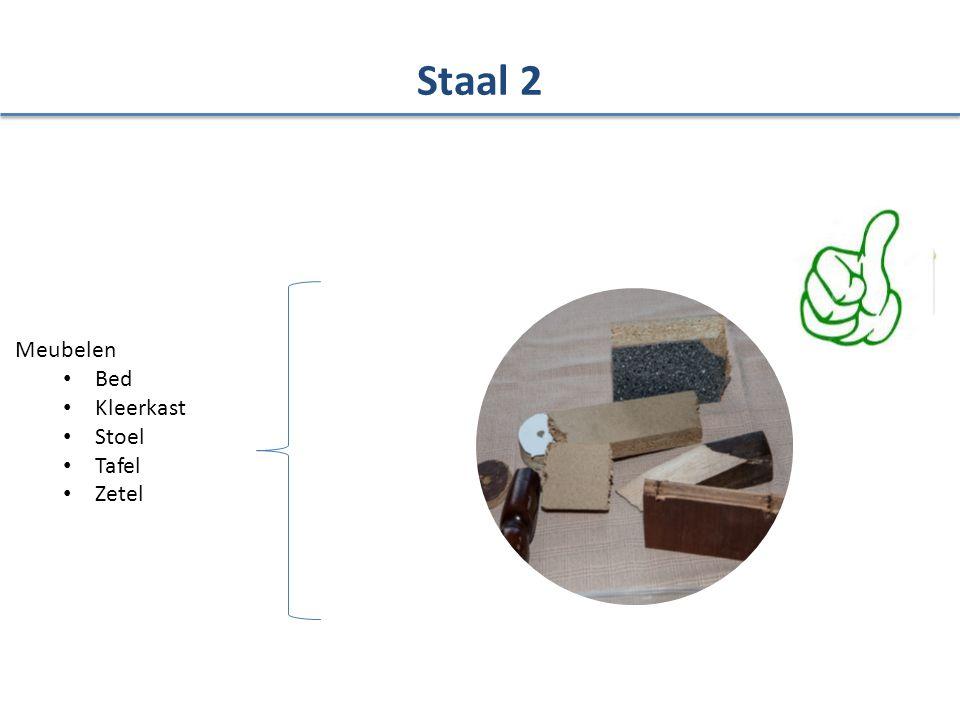 Staal 2 Meubelen Bed Kleerkast Stoel Tafel Zetel