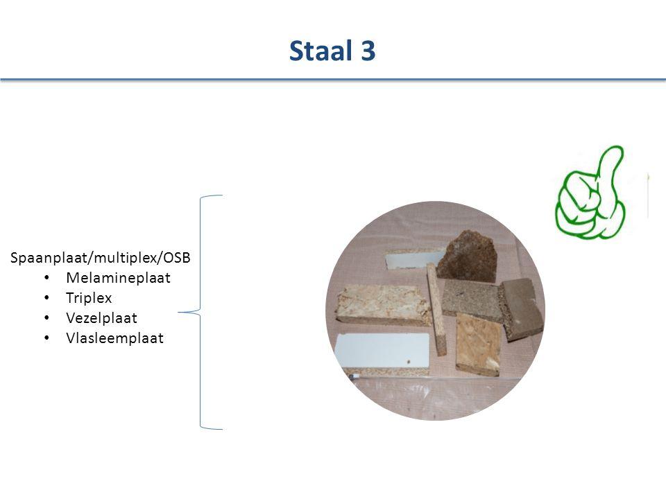 Staal 3 Spaanplaat/multiplex/OSB Melamineplaat Triplex Vezelplaat