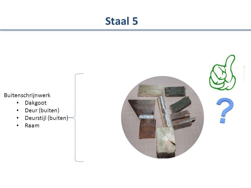 Staal 5 Buitenschrijnwerk Dakgoot Deur (buiten) Deurstijl (buiten)
