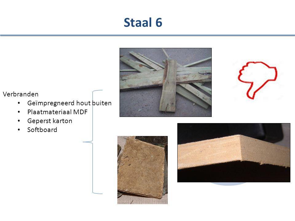Staal 6 Verbranden Geïmpregneerd hout buiten Plaatmateriaal MDF