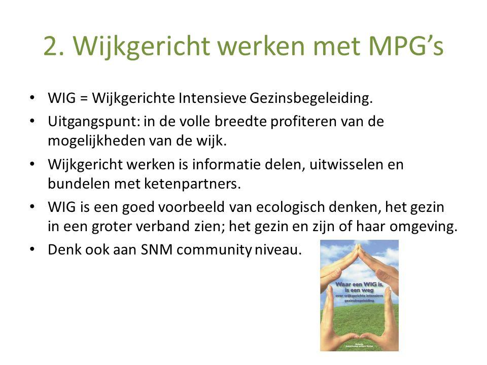 2. Wijkgericht werken met MPG's