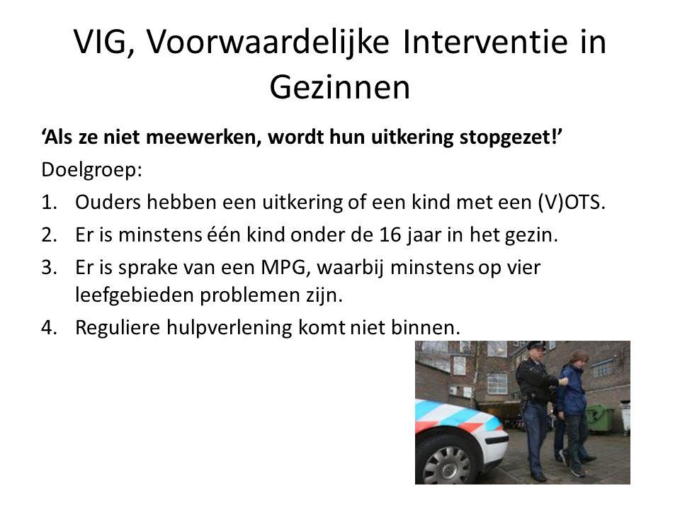 VIG, Voorwaardelijke Interventie in Gezinnen