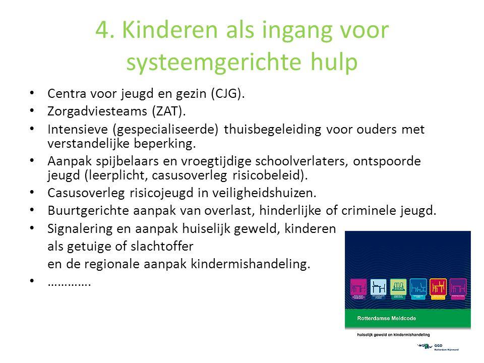 4. Kinderen als ingang voor systeemgerichte hulp