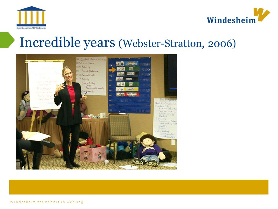 Incredible years (Webster-Stratton, 2006)