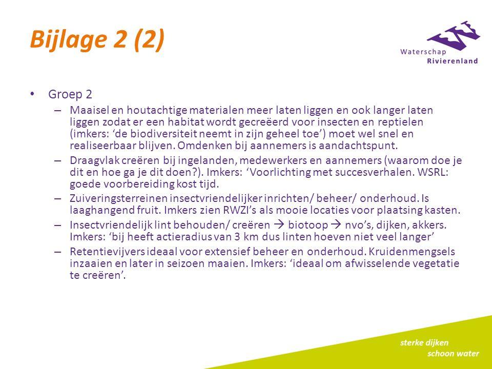 Bijlage 2 (2) Groep 2.