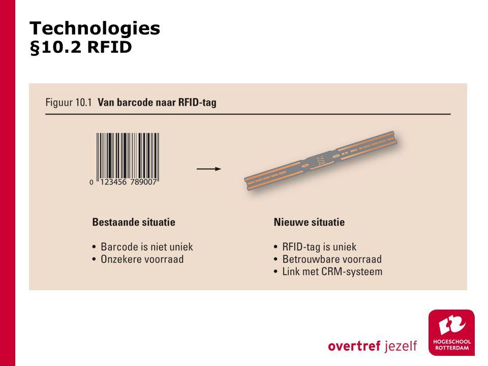 Technologies §10.2 RFID