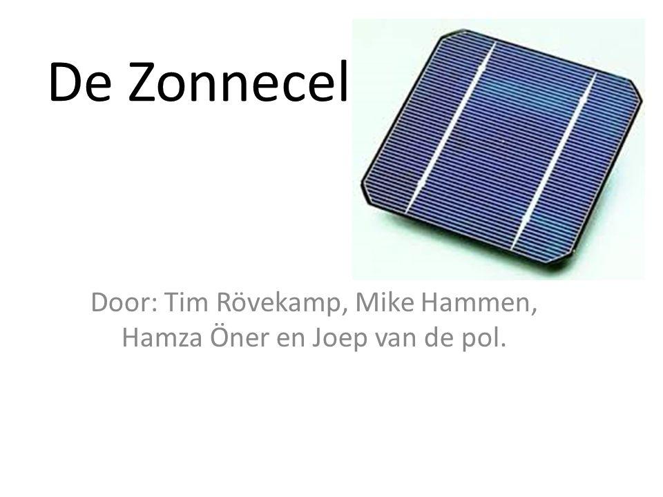 Door: Tim Rövekamp, Mike Hammen, Hamza Öner en Joep van de pol.