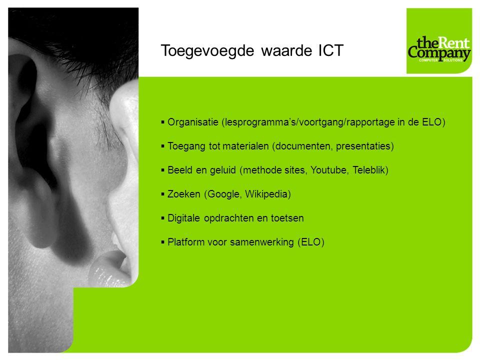 Toegevoegde waarde ICT