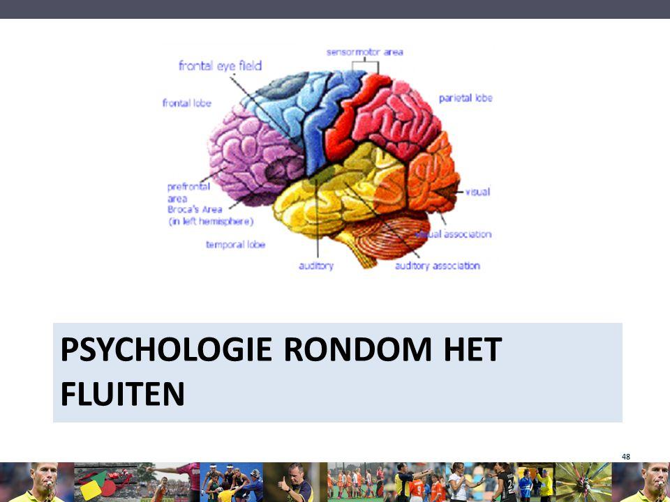 Psychologie rondom het fluiten