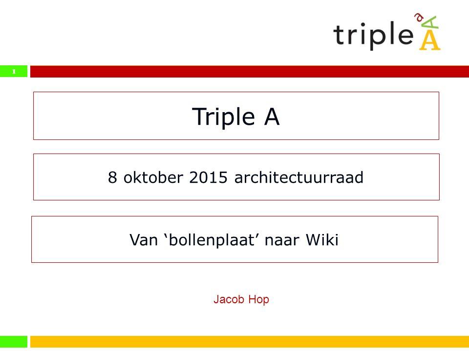 8 oktober 2015 architectuurraad